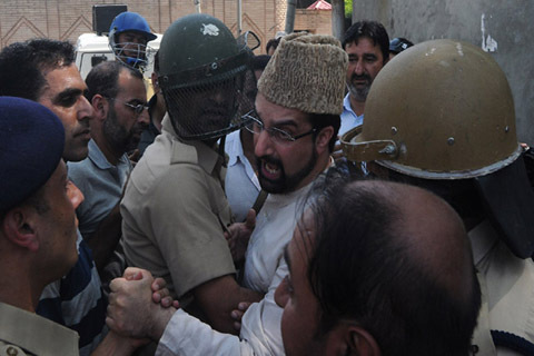 mirwaiz arrested